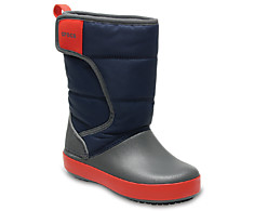 Crocs 204660-4HE Kids' LodgePoint Snow Boot