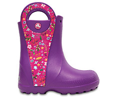 Crocs 204839-57H Kids' Handle It Graphic Boot