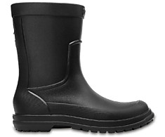 Crocs 204862-060 rain boot M black